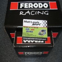 Focus RS MK1 Front & Rear Ferodo DS2500 Brake Pads